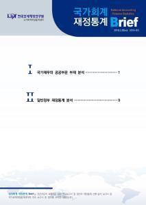 국가회계 재정통계 Brief (2018-01호) cover image