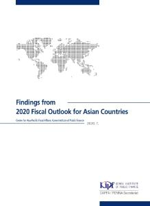 Findings from 2020 Fiscal Outlook for Asian Countries cover image