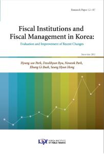 Fiscal Institutions and Fiscal Management in Korea: Evaluation and Improvement of Recent Changes cover image