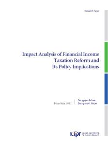Impact Analysis of Financial Income Taxation Reform and Its Policy Implications cover image