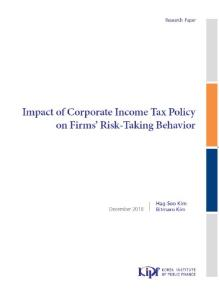Impact of Corporate Income Tax Policy on Firms' Risk-Taking Behavior cover image